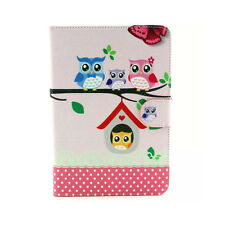 Owl Family Flip Stand Leather Case Cover For iPad Mini 1 2 3 Retina Salable