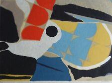 MAX PAPART espace aerien HAND SIGNED Etching on Japon W. Carborundum Cubism