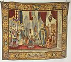 """""""The Court Of Camelot"""" French Wall Tapestry 28"""" x 33"""" By Michael Chisarik  # 105"""