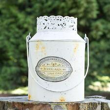 24cm Shabby Chic Decorative Milk Churn Planter Vase Vintage Flower Pot Garden