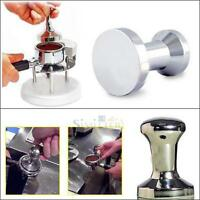 Coffee Barista Espresso Tamper 51mm&80mm Base Clear Body Stainless Steel Press