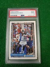 1992 topps shaquille o'neal psa 9 #6