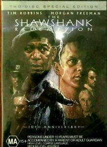 THE SHAWSHANK REDEMPTION DVD 2 DISC SPECIAL EDITION REGION 4 NEW AND SEALED