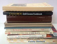 Vintage Cookbook Lot Recipes Cooking Time LIfe Williamsburg Betty Crocker