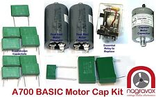 REVOX  A700  ABSOLUTELY Basic SERVICE KIT - motors & suppression capacitors