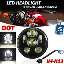 "5.75"" 5-3/4"" inch LED Headlight Lamp DOT Sealed Hi-Lo Beam for Yamaha Motorcycle"