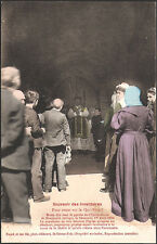 MONTGAUCH (09) - Souvenir des Inventaires 1906 - Messe dite sous le porche (2)