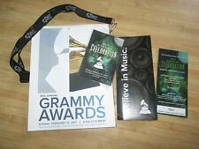 2017 MINT 59th GRAMMY AWARDS Program Afterparty Ticket Grammys Adele Tom Petty