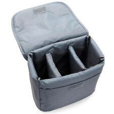 DSLR SLR Waterproof Camera Bag Insert Partition Padded Lens Case Cover Pouch lid