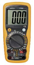 Amecal ST-9905 Multímetro Digital-Voltios AC/DC AMPS resistencia a prueba de diodo AC/DC