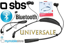 SBS Auricolare BLUETOOTH Stereo BT830 SPORT Tasto Volume Cellulari BRONDI