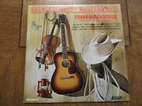 Frank Chacksfield & His Orchestra & Chorus – Great Country & Western Hits LP VG+