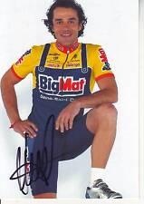 CYCLISME carte cycliste PLAMIEN STOYANOV équipe BIG MAT AUBER 93  signée