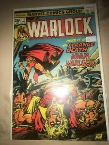 Marvel Comics Warlock 11 - High Grade Comic Book- B19-25
