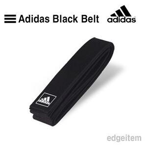 ADIDAS BLACK BELT 190cm / 210cm Once Wrap Taekwondo TKD Judo Kendo Hapkido BELT