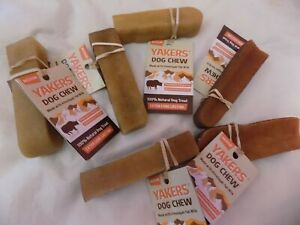 6 X Medium Yakers Himalayan Yak Milk Dog Chew