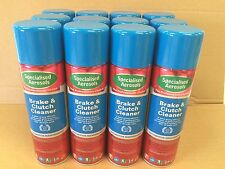 AUTOMOTIVE BRAKE AND CLUTCH CLEANER 12 X 500ML AEROSOLS