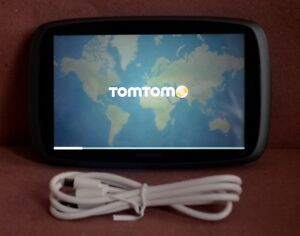 "TomTom GO 600 GPS  Portable 6"" Screen Lifetime US/CANADA Maps 3D trucker 4FA60"