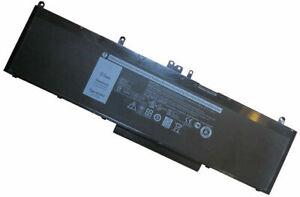 New WJ5R2 4F5YV OEM Laptop Battery for De ll Latitude E5570 Precision 3510 84Wh