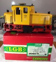 LGB 2060H Diesel Locomotive Preowned in Great Condition In Original Box