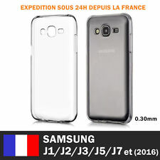 SAMSUNG GALAXY J1,J2,J3,J5,J7 J4 Plus J6 COQUE HOUSSE TPU SILICONE TRANSPARENT