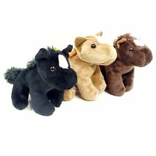 13cm Horse Soft Toy - Plush Cuddly Toy - Sold individually in Assorted Colours