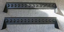 """2 x APC 870-5426B Câble Rétention SUPPORT NOIR 15"""" X 3"""" X 2.5"""" withonut Vis"""