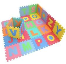 36 Pc 12'' Foam Puzzle Child Baby Colorful Non Toxic Waterproof Mat Judo Yoga NW
