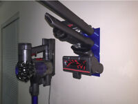 Dyson V6-V8 Cordless Wall Mount Accessory Tool Attachment Storage Rack Holder