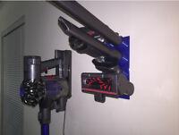 Dyson Cordless Vacuum Accessory Attachment Rack Wall Mount DC34 DC35 DC44 V6 V8