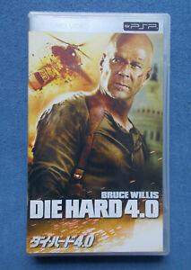 Die Hard 4.0 UMD Video PSP Japan