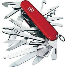 NEW SWISS ARMY 53501 RED LARGE SWISS CHAMP VICTORINOX MULTI TOOL KNIFE