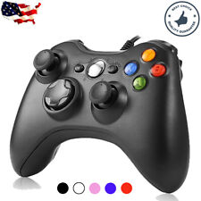 USB Wired Game Controller Joystick for Microsoft Xbox 360 / PC Windows XP 7 8 10