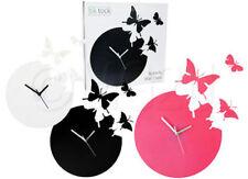Butterfly Round Modern Wall Clocks