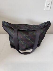 Victoria Secret VS PINK Weekender Travel Bag Tote Black