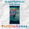 50 Card Merfolk lot Magic MTG w/ Rares + FREE bonus Rares & Booster Packs!