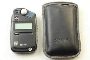 【Near MINT in CASE 】Sekonic L-308 Flashmate Light Exposure Meter From Japan