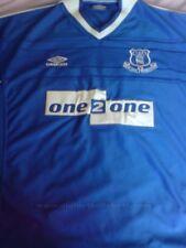 Maglia Everton Toffees shirt size L chest 56 cm maillot trikot football calcio