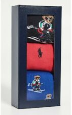 Polo Ralph Lauren Ski Bear socks box UK