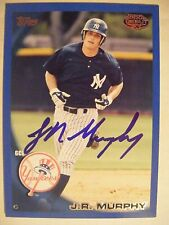 JOHN RYAN MURPHY signed BLUE #/259 TWINS 2010 Topps baseball card AUTO YANKEES
