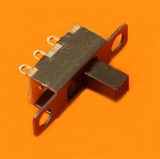 4x MINI INTERRUPTEUR COMMUTATEUR INVERSEUR A GLISSIERE 20x13x6mm lot de 4p