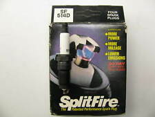 (4) Splitfire SF514D Ignition Spark Plugs