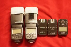 2 yn 568exii flash very good condition, andWireless Flash Trigger For Canon