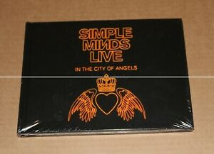 SIMPLE MINDS -- LIVE IN THE CITY OF ANGELS --  DELUXE EDITION 4 CDs --  NEUF
