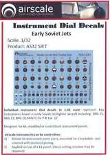 Airscale Decals 1/32 EARLY SOVIET JETS INSTRUMENT DIALS