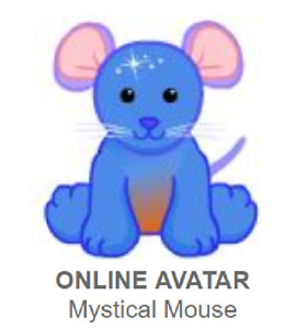 Webkinz Classic Mystical Mouse *Code Only*
