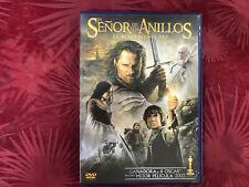 DVD CINE FANTASTICO EL SEÑOR DE LOS ANILLOS EL RETORNO DEL REY  2 x DVD