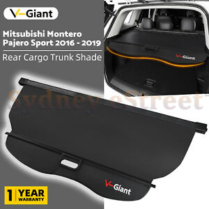 Car Trunk Shade Rear Cargo Safety Cover For Mitsubishi Pajero Sport 2016-2020 OZ