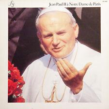 JEAN PAUL II A Notre Dame De Paris FR Press FY 094 1980 LP