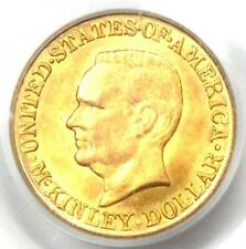 1916 McKinley Commemorative Gold Dollar Coin G$1 - Certified PCGS MS64 (UNC BU)